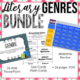 Genre Unit - Powerpoint, Jeopardy Review, Task Cards, much more!