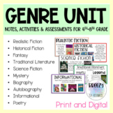 Genre Unit - Print & Digital