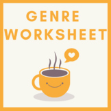 Genre Worksheet with Answers and Notes