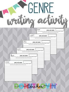Genre Writing Activity