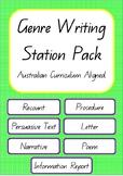 Genre Writing Pack- Australian Curriculum Aligned
