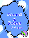Genre and Form Foldable
