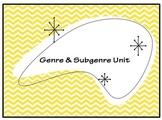 Genre and Subgenre Unit Project: Genre Reference Booklet