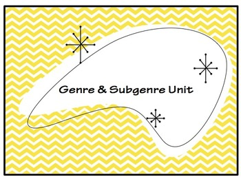 Genre and Subgenre Unit Project: Genre Reference Booklet
