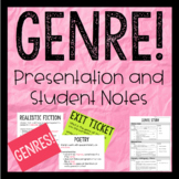 Genre! Presentation and Student Notes