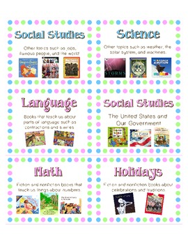 Genre labels for your classroom library