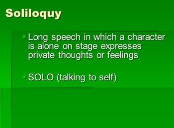 Genre of Drama--Types of Dramatic Speech