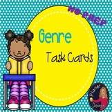 Genre task cards and anchor chart