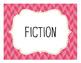 Genre Poster, Bookmark, and Graph Set