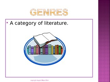 Genres, Adventure Fiction, and Myths PowerPoint