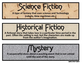 Genre's At A Glance