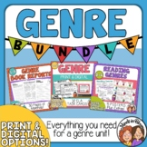 Genres Bundle   Guided Reports with Choice Boards Task Car