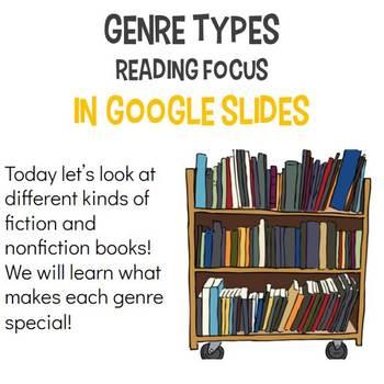 Genres - Digital in Google Slides