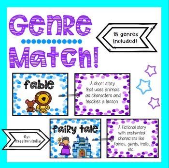 Genres Matching Game