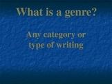 Genres Powerpoint