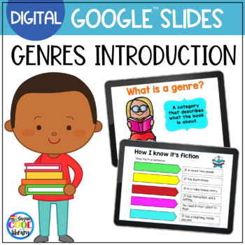 Genres Review Activity for Google Slides