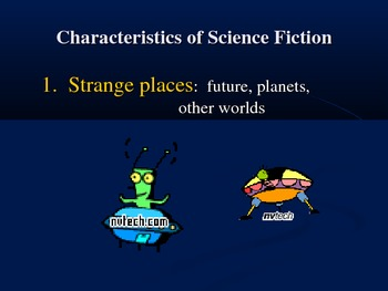 Genres Science Fiction Powerpoint