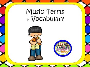 Music Terms Posters