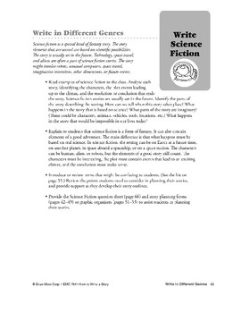 Genres: Write Science Fiction