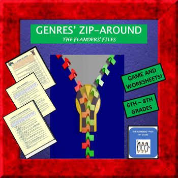 Genres Zip-Around and Worksheets