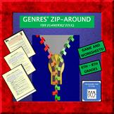 Genres Zip-Around and Worksheets