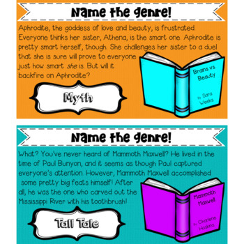 Literary Genres PowerPoint