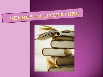 Genres in Literature PowerPoint