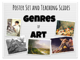 Genres of Art Poster Set and Teaching Slideshow