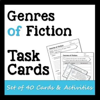 Genres of Fiction Task Cards