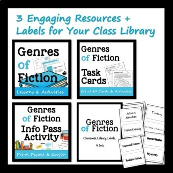 Genres of Fiction Unit of Study