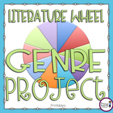 Genres of Literature {Literature Wheel Project}