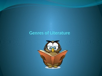 Genres of Literature Power Point