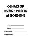 Genres of Music - Poster Assignment