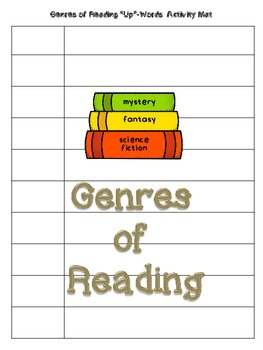 "Genres of Reading ""Up""-Words Activity (Version One)"