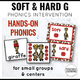 Phonics Intervention Games Soft G