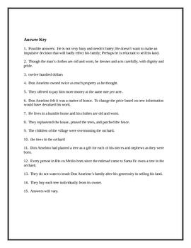 """""""Gentleman of Rio en Medio"""" Study Guide"""