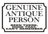 """""""Genuine Antique"""" Poster"""