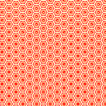 Geo Heaven in Orange and White Scrapbook/Digital Background