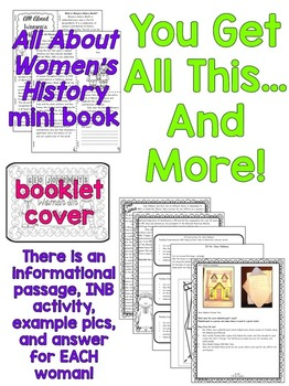 Women's History Interactive Notebook