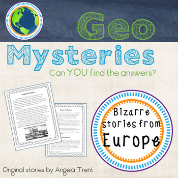 Geo Mystery Stories - Europe 1 Pack