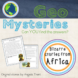 Geo Mystery Stories - Africa 1 Pack