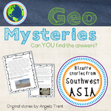 Geo Mystery Stories - Southwest Asia Pack