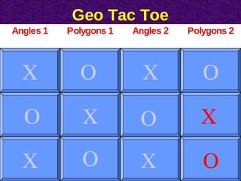 Geo Tic Tac Toe