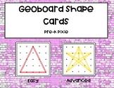 Geo-board 2D Shape cards