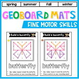 Geoboard Activities: Fine Motor Skill Activities - Geoboard Task Cards