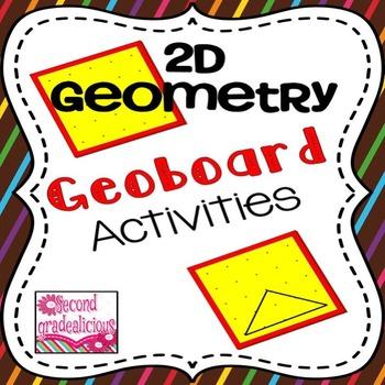 2D Geometry Activities for Geoboards
