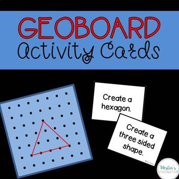 Geoboard Activity Cards