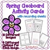 Geoboard Activity Cards - Spring