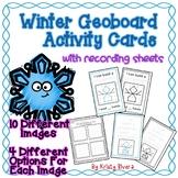 Geoboard Activity Cards - Winter