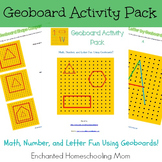 Geoboard Activity Pack